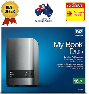 WD 16TB My Book Duo Desktop RAID External Hard Drive - USB 3.0 - Windows & Mac