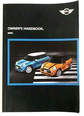MINI Cooper S 2014-16 Owners HANDBOOK / MANUAL Only 5080000
