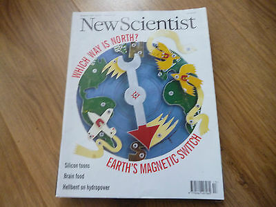 New Scientist Magazine*no.2023*march 30 1996*earth's Magnetic Switch*brain Food