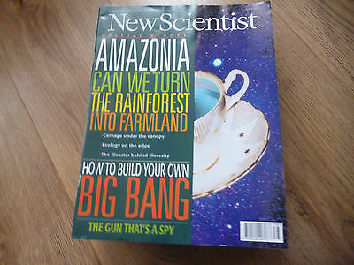 New Scientist Magazine*no.2048*september 21 1996*science*technology