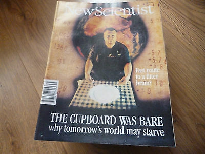 New Scientist Magazine*no.1941*september 3 1994*why Tomorrow's World May Starve