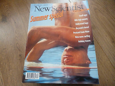 New Scientist Magazine*no.2040*july 27 1996*hollywood Bugs*postcard From Pluto