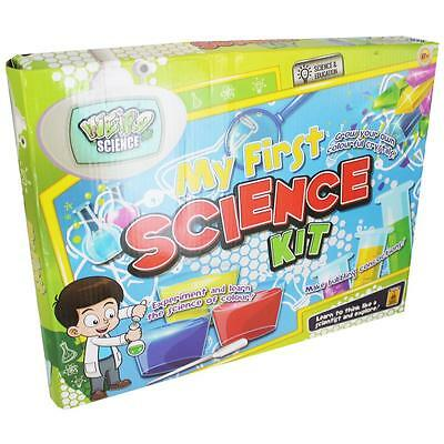 My First Science Kit Educational Creative Kids Chemistry Activity Lab Set Gift