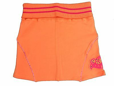 Girls Diesel Skirt Gedy Cotton Sweat Material Orange Age 8-9 Years NEW
