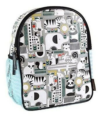 Petit Collage Childs Backpack, Animals