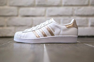 Adidas Superstar Sneakers Black Copper Rose Gold