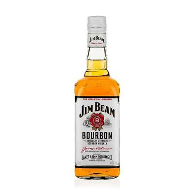 Jim Beam Kentucky White Label Bourbon 700ml