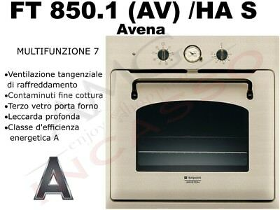 Forno Hotpoint Ariston FT 850.1 (AV)/HA S FT850.1 AV HAS F080420 A Avena Sabbia