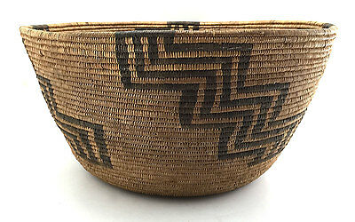 circa 1900 Havasupai Basket, 7 by 13.5 inches