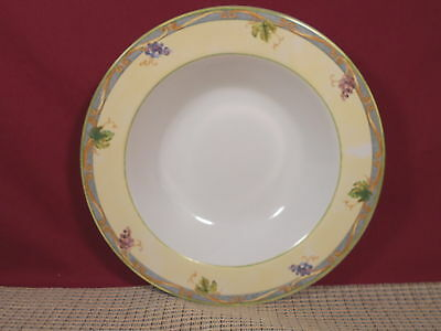 Interiors PTS Dinnerware Tuscan Country Rimmed Soup Bowl 9 1/8""