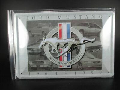 Blechschild Ford Mustang Auto Car Metall 30 cm,Metal Shield,Neu