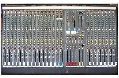 Allen and Heath GL2200 24 channel mixing desk