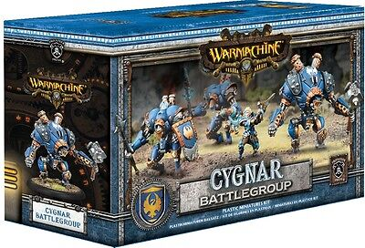 Warmachine Cygnar Battlegroup - Privateer Press - New Miniature