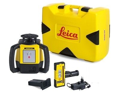 Rotating Laser Leica Rugby 610 w/ Rod 140 & Li-ion Package 6008613