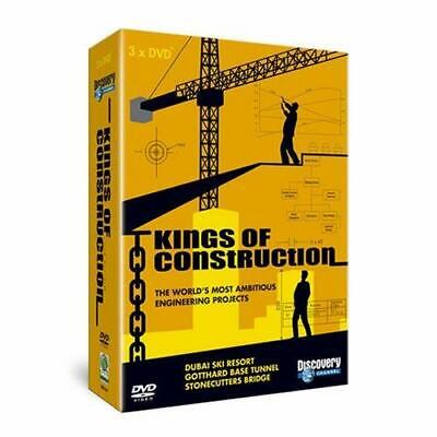 Kings Of Construction [DVD] - DVD  40VG The Cheap Fast Free Post