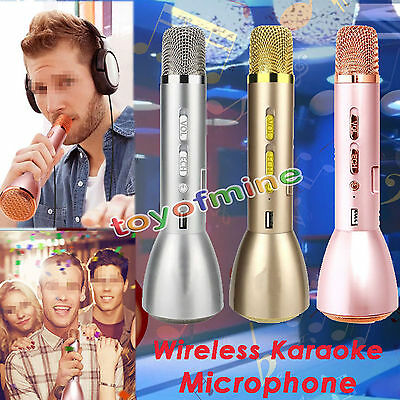 K088 Handheld Wireless Bluetooth Karaoke Player Microphone Speaker KTV Effect