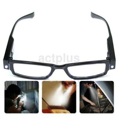 445160c3032 Multi Strength Eyeglass LED Reading Glasses Spectacle Diopter Magnifier  Light US