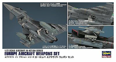 Hasegawa X72-15 Europe Aircraft Weapon Set 1/72 from Japan Very Rare