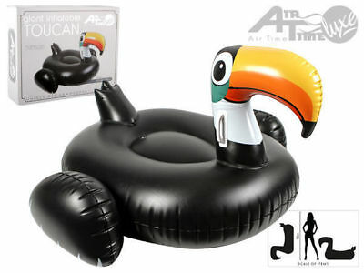 1 giant toucan 130x85x139cm  pool toy inflatable air bed