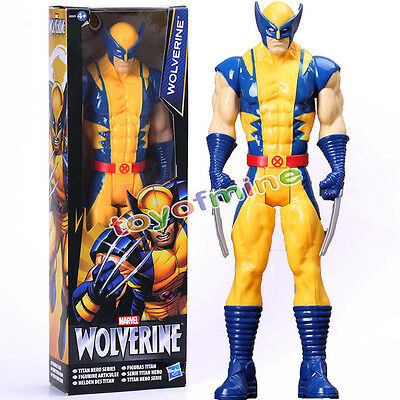 "Wolverine X-Men Action FIGURE Toy The AVENGERS Marvel Titan Hero Series 11"" Gif"