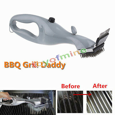 Grill Daddy Cleaner BBQ Grill Brush Cleaning Tools Grills Picnics Barbecue