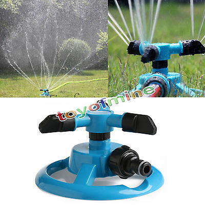 3 STYLE 360° Lawn Circle Rotating Water Sprinkler Garden Pipe Hose Irrigation AU