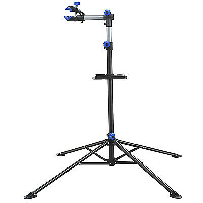 AU Bike Repair Stand Portable Bicycle Workstand Tool Folding Mechanic Foldable