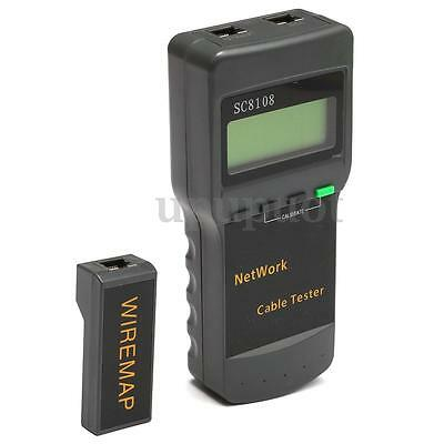 SC8108 Cat5 RJ45 Rete LAN Cavo Tester Tracker Telefono 8 Far-end Test Adattatore