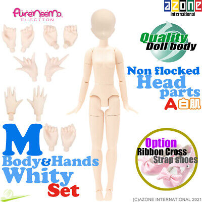 AZONE 1/6 Pure Neemo FLECTION S Body & Hand parts B set White Blythe Doll NEW
