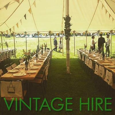 FOR HIRE Wedding Event Party Vintage Trestle Tables And Chairs BRISTOL & BATH