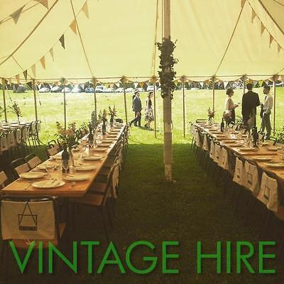 FOR HIRE Wedding Event Party Vintage Trestle Tables And Chairs GLOUCESTERSHIRE