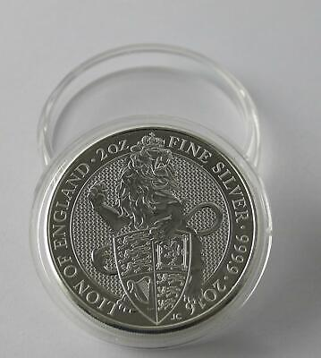 Deep Coin Capsule for 2oz ounce Silver Beasts Bullion fits Silver Beast