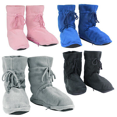 Cozy Microwavable Boots Heatable Slippers Soft Feet Warmers Winter Xmas Gift