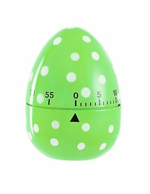Eddingtons 60 Minute Egg Timer Green with white Spotted 1 minute graduations
