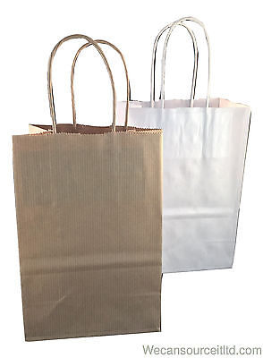 Luxury Paper Party Bags Kraft- Gift Wedding Hen - (Accessory Size)