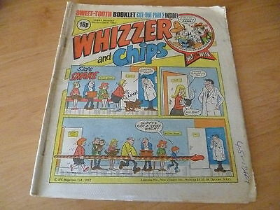 Whizzer and Chips Comic , 9th October 1982