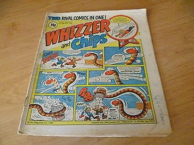 Whizzer and Chips Comic , 9th January 1982