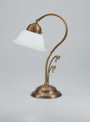 Beautiful Table Desk Lamp Made of Brass Lamp Light Berliner Messinglampen