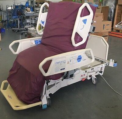 Refurbished Hill-rom Total care P1900 Sport SPO2rt Hospital Bed + Air mattress
