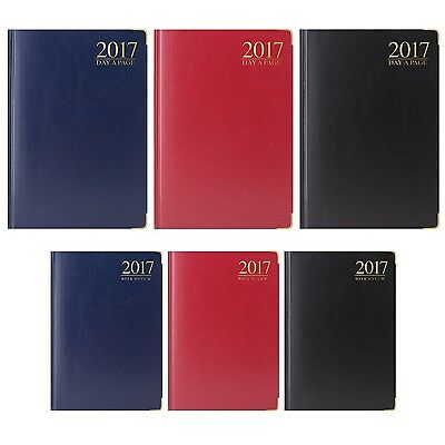 2017 Padded, Metal Corner DIARY - Choose Week/Day to View {Tallon} Planner