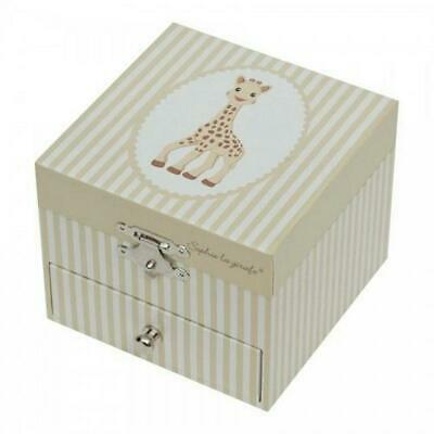 Sophie The Giraffe Cube Music Box - Trousselier