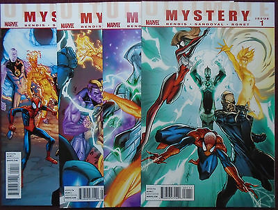 Ultimate Mystery (2010 Marvel), SET:#1-4, NEW/NM