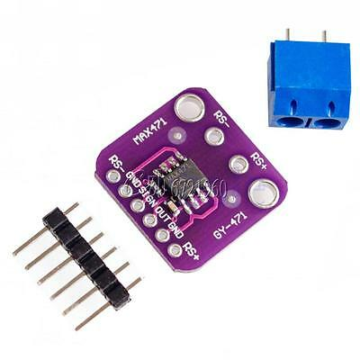 GY-MAX471 MAX471 Voltage Current Sensor Volt Amp Test Sensors Module for Arduino