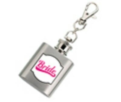 "New! Lillian Rose ""team Bride""  & ""bride"" Accessories -Mini Drink Flasks"