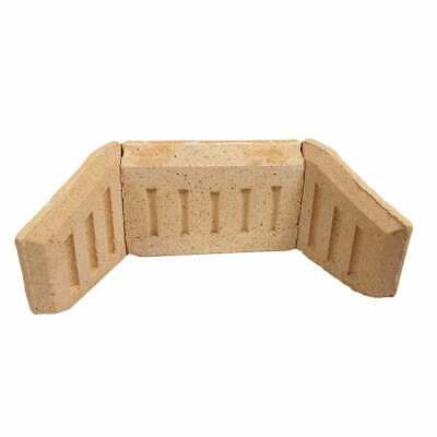 """Universal Coal Saver Fire Brick Set To Fit Any Fireplace-16"""" Or 18"""" Fire Opening"""