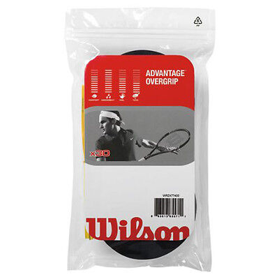 WILSON ADVANTAGE OVERGRIP 30pack racquet racket over grip - tennis badminton