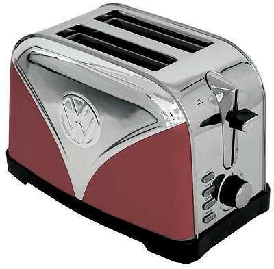 3201RED - VW 2 Slice Toaster, Red