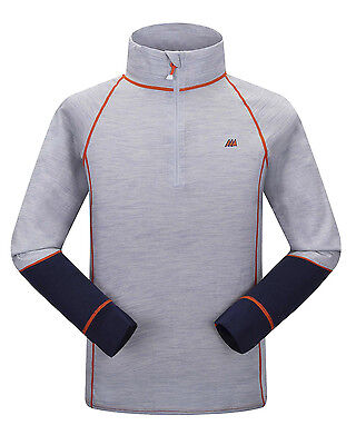 Skogstad 100% Merino Wool Base Layer Top - Various Sizes Available - Brattefjell