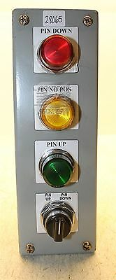 Four Hole Pushbutton Panel
