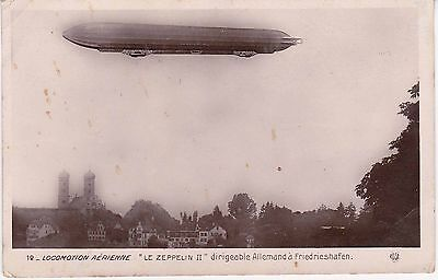 "CPA 199 - Aviation - "" Le Zeppelin II "" Dirigeable Allemand à Friedrieshafen"